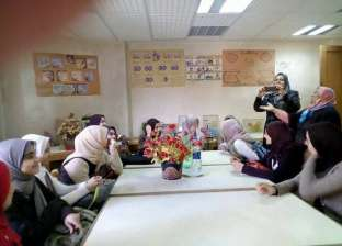 "بالصور| وفد من طالبات مدرسة ""مختار كامل ""يزور مجمع مركز إعلام زفتى"