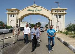 وفد من قيادات وزارة التعمير يزور قرية الروضة بشمال سيناء