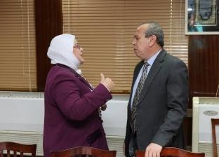 محافظ كفر الشيخ يناقش سير العملية التعليمية وسد العجز في المدارس