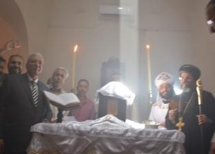 تعامد أشعة الشمس على مذبح رئيس الملائكة ميخائيل في الدقهلية