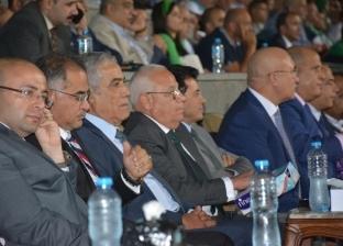 وزير الرياضة يشهد مباراة المصري واتحاد العاصمة الجزائري بإستاد بورسعيد