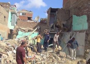 تقرير رسمي بالسويس: 132 قرار إزالة لعقارات بحي الأربعين