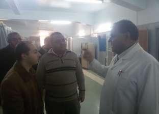 بالصور| مدير الرعاية بالشرقية يتابع التشغيل التجريبي للعناية المركزة في ههيا