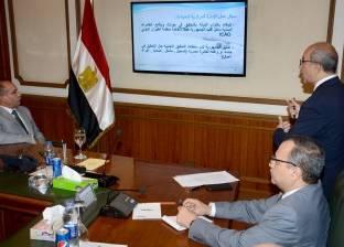 وزير الطيران المدني يلتقي رئيس الهيئة المصرية للأرصاد الجوية