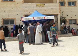 صرف المعاش الاجتماعي للمنقولين من أهالي الشيخ زويد ورفح
