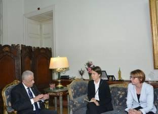 سفيرة فنلندا تشيد ببرامج الإصلاح الجديدة لتطوير التعليم في مصر