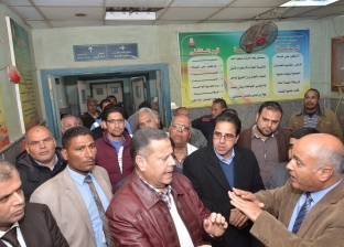 محافظ بني سويف يتفقد مستشفى ناصر: الخدمة الصحية لم تتاثر