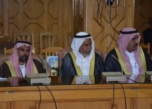 محافظ الإسماعيلية يستقبل رؤساء وفود الدول المشاركة في سباق الهجن
