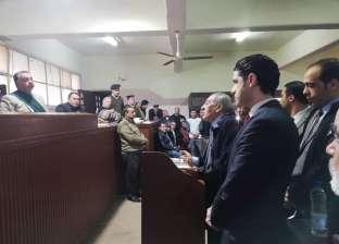 """دفاع المتهم بقتل زوجته وأبنائه في كفرالشيخ: """"متزايدوش عليه"""""""