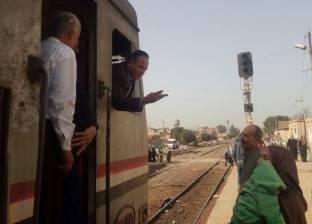 مصرع طفلة وإصابة سائق إثر تصادم توك توك بقطار في الخانكة
