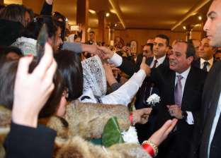 """""""حنفي"""": زيارة الرئيس للكاتدرائية للعام الثالث تعكس متانة النسيج الوطني"""