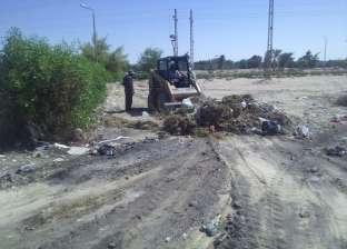 رئيس رأس سدر: رفع 70 طن مخلفات من الشوارع والميادين