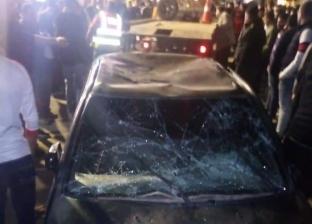 عاجل.. إصابة 4 أشخاص في حادث دهس في شبين الكوم