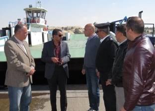 مدير أمن الإسماعيلية يتفقد خطة تأمين المجرى الملاحي لقناة السويس