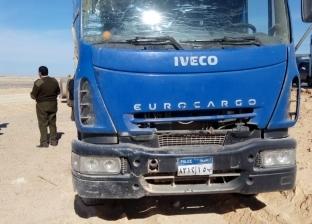 إصابة مجندين في حادث انقلاب سيارة شرطة متجهة إلى أسوان
