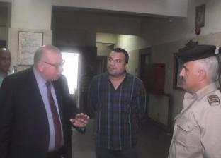 مدير أمن القليوبية يتفقد قسم شرطة قها ويستمع لشكاوى الأهالي