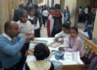 توقيع الكشف الطبي على 1600 مواطن وتزيين أسوار مدارس العمودين في المنيا