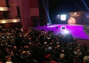 وصول خالد النبوي وإلهام شاهين إلى حفل توزيع جوائز ساويرس الثقافية