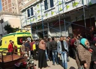 مصرع عامل بناء سقط من عقار بالمنصورة