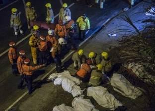 مقتل 19 شخصا في انقلاب حافلة في هونج كونج