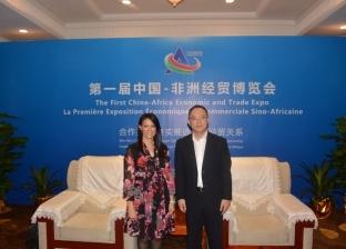 """""""المشاط"""" تبحث التعاون المشترك مع نائب محافظ """"تيانچين"""" الصينية"""
