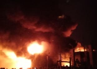 حريق يلتهم أثاث منزل بإحدى قرى مركز كوم حمادة في البحيرة
