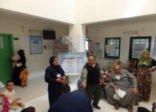 الكشف على 1333 مواطنا بقافلة علاجية بقرية الجهاد في المنيا