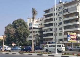 بالصور| طلاء واجهات عقارات شارع الميرغني في مصر الجديدة