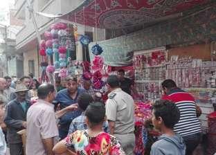 بالصور  حملة مكبرة لرفع الإشغالات بمدينة فارسكور
