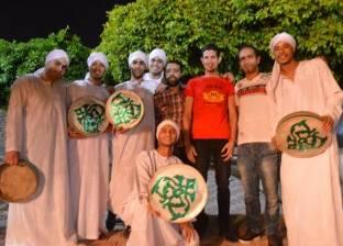 أمسية ثقافية لفرقة الفنون الشعبية بكفر الشيخ بحدائق مطوبس