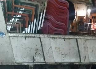 حي شرق بالإسكندرية يشن حملة لإزالة التعديات بمنطقة سموحة