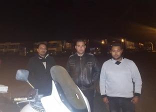 """لجنة من """"المرور"""" تتابع ساحة انتظار سيارات النقل الثقيل بـ""""الطور"""""""