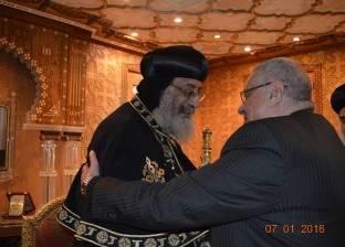 حزب حماة الوطن يستنكر حادثي تفجير كنيستين بطنطا والإسكندرية