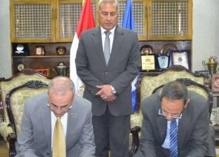 بروتوكول تعاون بين محافظة السويس ومصنع الطائرات بالهيئة العربية