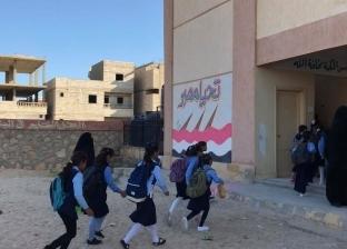 تخصيص 18 حافلة لنقل المعلمين من العريش إلى الشيخ زويد ووسط سيناء