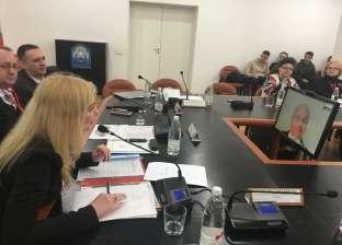 وزير التعليم العالي الأسبق يشارك في مؤتمر بروسيا عبر الفيديو كونفرانس