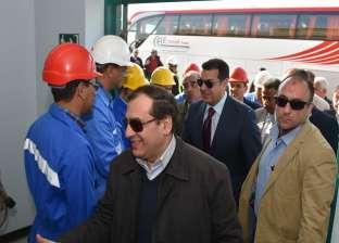 """وزير البترول: حقل """"ظهر"""" للغاز هو الأكبر في حوض البحر المتوسط"""