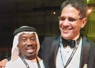 وزيرة الهجرة تهنئ أيمن الرمادي لفوزه بثاني أفضل مدرب في الإمارات