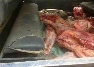"""""""طب بيطري الغربية"""": حملات مكثفة على محلات الجزارة قبل إجازة العيد"""