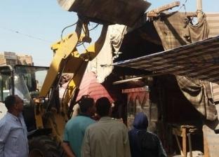 تحرير 81 محضر إشغالات عامة ونظافة خلال حملة مكبرة بمركز ديروط