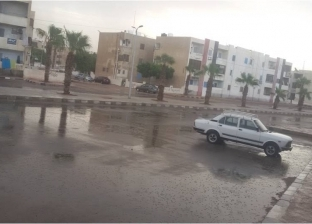 أمطار خفيفة بمدينة رأس سدر ووادي فيران بجنوب سيناء