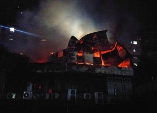 صور.. ما فعله الحريق الهائل بدير الأنبا بولا: السقف تآكل والرخام تكسر