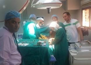 إجراء أول عملية أوعية دموية بمستشفى دهب المركزي