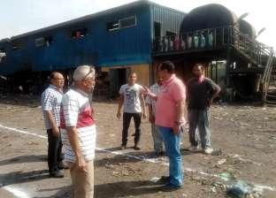 رئيس المحلة: استمرار أعمال الرفع من مصنع تدوير القمامة