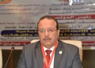 رئيس جامعة طنطا: نسير على خطى القيادة السياسية في مكافحة الإرهاب