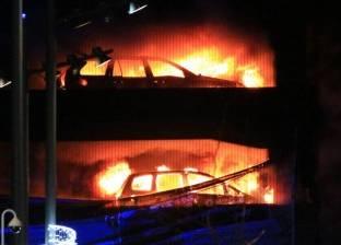 عاجل| حريق هائل في مصنع بشركة غزل المحلة