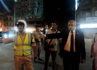 بالصور| مدير أمن الغربية يتفقد الأكمنة بشوارع طنطا ويشدد على حسن معاملة المواطنين