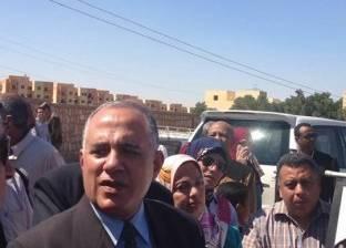 وزير الري يتفقد أعمال تطهير مصرف السيل في أسوان بـ48 مليون جنيه