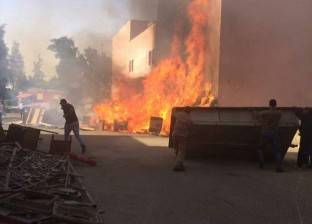 تفحم سيدة ورضيعين وإصابة 4 أشخاص في حريق سيارة ببورسعيد