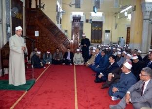 """محافظ القليوبية يشهد احتفالية العام الهجري الجديد بمسجد """"ناصر"""" ببنها"""